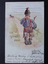 Cynicus: Scottish Theme, Little Boy Crying! MY NANNIE'S AWA c1902 UB