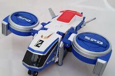 Power Rangers SPD Megazord Delta Squad Zord Figure 2 - Blue Runner Flyer figure