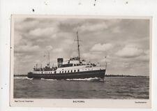 Balmoral Red Funnel Steamers Vintage RP Postcard 840a