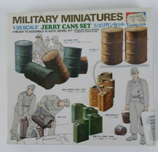 Tamiya Military Miniatures Jerry Cans Set 1/35 Kit 3526 Factory Sealed