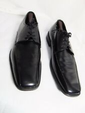 KENNETH COLE New York Men's Oxford Style Dress Shoes Size 10.5 M Black Leather
