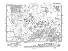 Erpingham Ingworth Old map of Calthorpe Norfolk in 1907: 28NW repro