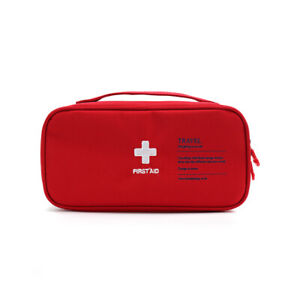 Camp First Aid Kit Medicine Travel Bag Portable Medical Box Survival Case Pouch