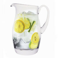 Krosno Handcrafted 2.1 Qt 2 lt Glass Pitcher - Made in Poland