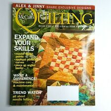 McCall's Quilting Magazine October 2007 Halloween Quilt Expand Your Skills