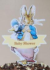 PETER RABBIT & JEMIMA Cake Topper Party Decoration Centerpiece - Baby Shower
