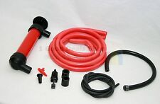 SIPHON PUMP TUBE FUEL OIL DIESEL PETROL WATER LIQUID FLUID HAND TRANSFER KIT 19C