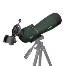 Svbony 20-60x80mm Refractor Spotting Scope for Bird Watching+Phone Mount Adapter