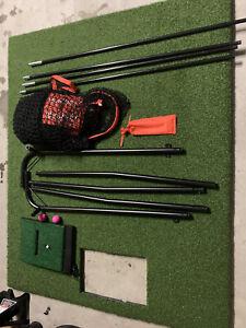 optishot 2 golf simulator golf mat golf net