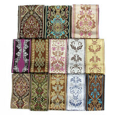 6cm Width Clothing Bed Curtain Fabric Embroidery Ethnic Style Sold By Metre