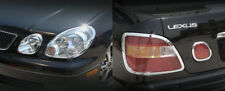 Lexus GS 1998-2005 Headlight & Taillight Chrome Trims GS300 GS400 trims only
