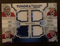 2019-20 Upper Deck NHL Artifacts Tundra Teammates Relic Canadians T4-MTL #/99