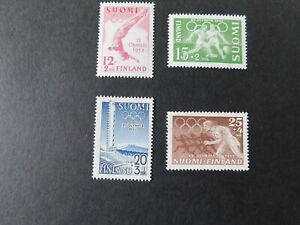 """FINLAND - 1951 """" 15th OLYMPIC GAMES, HELSINKI """" Lightly-Mounted Mint. SG.503/06."""