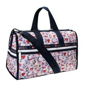 LeSportsac BTS Collection Medium Weekender Duffel Bag in BT21 Multi NWT