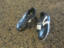 Athletic Works Soccer Football  Cleats Youth Boys 13 EUR 31 black white NWT New