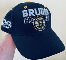 New Adidas NHL Boston BRUINS 100th Celebration SNAPBACK Hat Cap  Adjustable