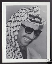 YASIR ARAFAT Palistine PLO Leader 1995 WHO'S WHO GAME CANADA PHOTO TRIVIA CARD