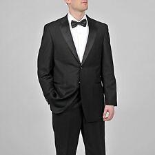 Caravelli Men's Black Tuxedo 46 L 40 W unhemmed NEW