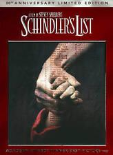 Schindler's List [20th Anniversa DVD Region 1 AWS/20th Anniv. ED.