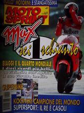 Motosprint 41 1997 SBK: Kocinski campione del mondo. Supersport: il re è Casoli