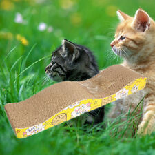 New Cat Scratching Corrugated-board Scratcher Post Pole Bed Pad Catnip Toy 2017
