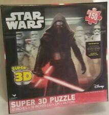 "Star Wars Kylo Ren Stormtroopers Super 3D-150 Puzzle Pack 12"" X 18"" Sealed"