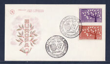 enveloppe 1er jour  Europa   Aix en Provence    1962
