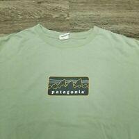 Vintage Patagonia Beneficial Shirt XL Made In Usa 100% Organic Cotton RARE!