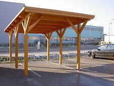 NORDLAND88 CARPORT PULTDACH 350x550cm BSH-LEIMHOLZBAUSATZ LISTENPREIS 1.692.-