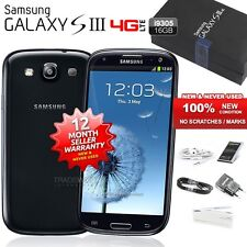 New Sealed Unlocked SAMSUNG Galaxy S3 SIII I9305 Black 4G Android Mobile Phone