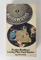 Vintage Waterworks (1972 Parker Brothers) - The Leaky Pipe Family Card Game