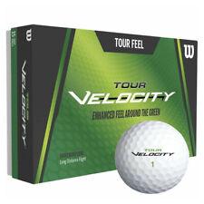 Wilson Tour Velocity Feel Soft White Golf Balls - 15x Ball Pack