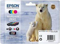 Epson 26 XL Multipack T2636 Tintenpatronen Druckerpatronen NEU OVP