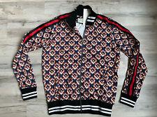 Gucci Sweater  Zip Men's Top Blue Sweatshirt Crewneck Italy Tiger  L