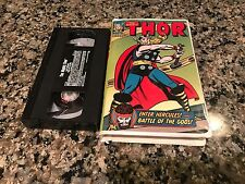The Mighty Thor Enter Hercules Battle Of The Gods Rare VHS!