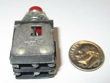 Honeywellmicro Switch 2pb12 Dpdt Momentary Push Button Switch Used Good