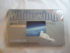 NEW UNOPENED WHITEWINGS Excellent Paper Airplanes Assembly Kit for 15 Models