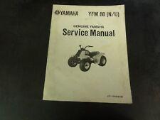 Yamaha YFM 80 (N/U) Service Manual   LIT-11616-04-84