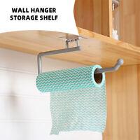 Kitchen Roll Holder Paper Toilet Towel Under Shelf Cabinet Storage Rack Hanger~