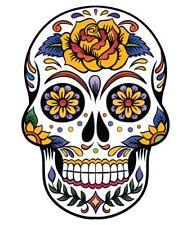 Azúcar Calavera Vinilo Pegatina Calcomanía español de México día de los muertos Diversión marca Sexy5