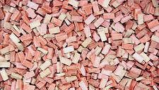 3.000 Keramik Ziegelsteine rot Mix 1:87 von Juweela