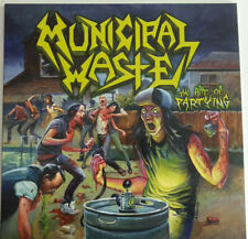 MUNICIPAL WASTE - THE ART OF PARTYING LP  YELLOW VINYL  NEW  NOT SEALED