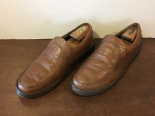 Mephisto Air Jet Brown Pebble Leather Loafers Slip- On Sz. 10.5 US