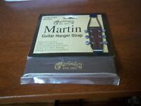 Martin Guitar Hanger Strap 18AMLGBR in Brown **Genuine Leather!