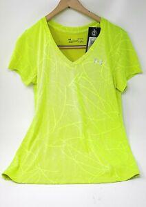 Women's Under Armour loose Medium Bright Yellow Shirt