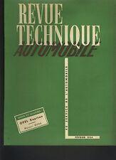 (C4)REVUE TECHNIQUE AUTOMOBILE OPEL KAPITAN / MOTEUR BUDA / Boîte ICAR / FLOIRAT
