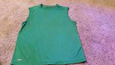 Starter Dri-Star Training Fit Performance Tank Top T-Shirt Mens Size L Green
