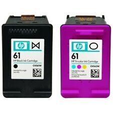 HP #61 Black Color Ink Cartridge Combo GENUINE NEW