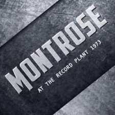 Montrose Sammy Hagar - At The Record Plant 1973 (Live) CD New Sealed