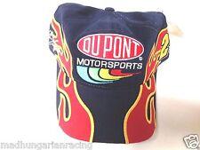VINTAGE NASCAR JEFF GORDON DOUBLE FLAME DUPONT 2001 HAT CAP NEW W/TAG SNAP BACK